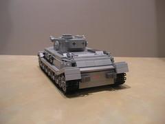 Lego Porsche Tiger VK4501(P) (Shockblast1) Tags: tank lego tiger wwii prototype porsche ww2 worldwar2 panzer legotank custombricks vk4501