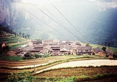 Country Village (Roon & Beks) Tags: china film 35mm lomo lca cross process