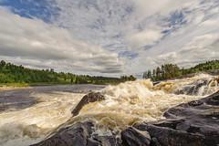 Nämforsen (fotografanders) Tags: white water stream sweden wideangle rapids vatten fors näsåker västernorrland vidvinkel nämforsen ångermanälven nikon1424