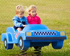 Riding at Newman Park 2015 (hz536n/George Thomas) Tags: summer copyright canon michigan audrey canon5d upnorth georgie 2015 ef24105mmf4lisusm ogemawcounty cs5 newmanpark