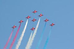 DAS 28200 (kgvuk) Tags: aircraft devon redarrows dawlish dawlishairshow dawlishairshow2014