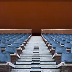 cavea (zecaruso) Tags: roma scale stairs chairs explore sedie renzopiano auditorium ze zeca parcodellamusica cavea nikond300 zecaruso cicciocaruso zequadro ze