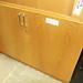 Oak office storage