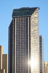 Seattle Municipal Tower from Yesler Way (SounderBruce) Tags: seattle skyscraper seattlemunicipaltower cityofseattle