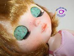 F.A Degas, mi custom n 30. (edea44) Tags: doll carving custom degas fa adoption bailarina edea maquillaje pecas rbl adopcin neoblythe nickylad edeadolls