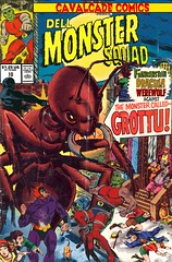 Cavalcade Comics 10 - Dell Monster Squad (Paxton Holley) Tags: man monster werewolf photoshop vintage comics book wolf comic books dracula nostalgia frankenstein cover dell covers monsters custom cavalcade throwdown