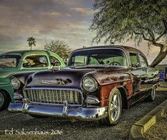 1955 Chevrolet (Edward Saksenhaus RPh.) Tags: car auto vehicle transport transportation chevy chevrolet gm 1955 usa