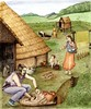 Iron Age pottery production (Wessex Archaeology) Tags: reconstruction visualisation illustration archaeology archaeological ironage pottery kiln production making weaving roundhouse loom fourpost structure