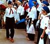 FDJ Jugendfestival in Ost-Berlin,DDR FDJ,DDR Pioniere,Thälmannpioniere (SchlangenTiger) Tags: thälmannpioniere jungpioniere jungepioniere freiedeutschejugend fdj gdr ostberlin berlin ddr pioniere schule schüler kinder jugend jugendfestival