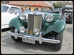 MG TD Midget (v8dub) Tags: mg td midget schweiz suisse switzerland fribourg freiburg british roadster pkw voiture car wagen worldcars auto automobile automotive old oldtimer oldcar klassik classic collector
