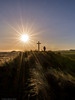 The Walk (Northern Kev) Tags: sunburst sun walk person human d7200 nikond7200 nikon alnmouth northumberland northeast grass sky cross landscape lightanddark outdoor tokina tokina1116