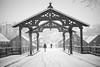 "Lykkens portal (""Portal of fortune"") (Helena Normark) Tags: winter snow snowfall snø lykkensportal gamlebybro bybroa bakklandet trondheim sørtrøndelag norway norge sonyalpha7ii a7ii voigtländer cv5015 nokton5015 nokton50mmf15"