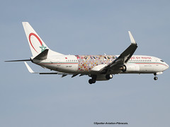 "Royal Air Maroc (RAM). Livery "" Saidou Dicko Artiste From Burkina Faso"". (Jacques PANAS) Tags: royal air maroc ram boeing 73786nwl cnrgf msn368263773"