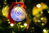 Merry Christmas and a Happy New Year 2017 (georgeplakides) Tags: merry happy christmas newyear 2017 bokeh redribbon decorations ornaments