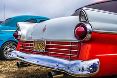 1955 Ford--DSC02659--Port Orford, OR (Lance & Cromwell back from a Road Trip) Tags: 2016jubileecarshow 1955 ford carshow portorford jubilee 2016 currycounty oregon sony sonyalpha a77ii dt1650mmf28