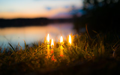 Happy 4th Advent (--Conrad-N--) Tags: candles kerzen advent lake scharmützel see christmas time 4