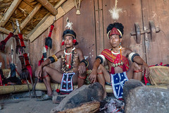 UMD05076 (gregoryallyawarjri) Tags: men tribal culture tradition traditional attire hunters northeastindia nagaland