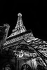 1/2 Eiffel Tower (Zaki Amar) Tags: lasvegas eiffeltower blackwhite