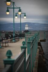 the dock (Rabican7) Tags: vermont burlington dock lighthouse windy newengland lake lakechamplain
