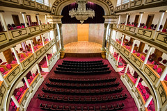 2016 - Mexico - Querétaro - Teatro de la Republica (Ted's photos - For Me & You) Tags: 2016 cropped mexico queretaro santiagodequeretaro tedmcgrath tedsphotos tedsphotosmexico vignetting nikon nikonfx nikond750 teatrodelarepublica teatrodelarepublicaqueretaro queretaroteatrodelarepublica seating seats chandelier theatre balconys loges