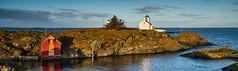 Tonjer fyr, Vibrandsøy - Norway (Vest der ute) Tags: xt2 norway rogaland haugesund seascape landscape sea boathouse lighthouse rocks sky clouds outdoor fav25