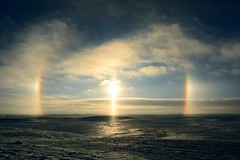 Sun Dog, North Dakota (USFWS Mountain Prairie) Tags: usfws prairie prairiepotholeregion prairiepotholes northerngreatplains greatplains prairies sundog usfishandwildlifeservice conservation