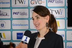 Kateryna Lagno press interview (Johnchess) Tags: 29january2017 round6 tradewisegibraltarmasters