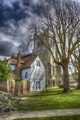 Waltham Abbey (nigdawphotography) Tags: walthamabbey essex church abbey houses architecture