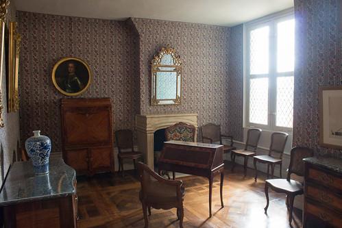 Cabinet des plans, Château de Chambord