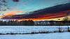 Winter sunset (Pierre Villanti) Tags: neige paysage landscape sunset snow canoneos5dmarkiv canon2470f4lisusm couchédesoleil valléedelarve arenthon auvergnerhônealpes france fr