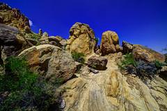 Grapevine Hills trail in Big Bend NP (Baja Juan) Tags: big bend national park bbnp np texas rock formations boulders southwest desert usa blue skies cloudless hdr baja