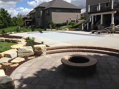 "Allison Patio/Fire Pit and Landscaping 2016 • <a style=""font-size:0.8em;"" href=""http://www.flickr.com/photos/85951398@N06/32364857821/"" target=""_blank"">View on Flickr</a>"