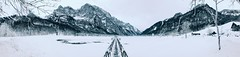 These Moments (FlavioSarescia) Tags: iphone natuer nature landscape travel pano panorama lake winter cold frozen mountains mountain switzerland klöntalersee water