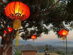 Miles Away Red Lanterns Lantern Chinese New Year Chinese Village Yunlai Pai Maehongson Thailand Northern Thailand (Iamacherry) Tags: milesaway redlanterns lantern chinesenewyear chinesevillage yunlai pai maehongson thailand northernthailand