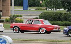 1966 Mercedes-Benz 250SE (W108) (SPV Automotive) Tags: 1966 mercedesbenz 250se sedan classic car red w108