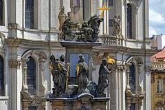 Praga- kolumna morowa (marek&anna) Tags: praga praha prague malastrana moroncolumn baroque statue column sculpture