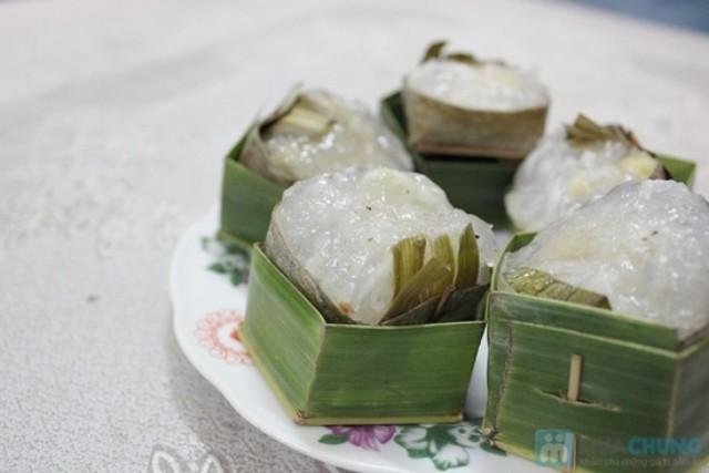 2Vị thơm ngọt của đậu xanh hào cùng hương bưởi nồng nàn là nét đặc trưng của bánh phu thê nổi tiếng ở Huế