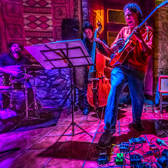Steppin' on a Hot Rock (migueldunham) Tags: music mexico morelia jazz michoacan mikedunham amaticafe tonemappedsingle