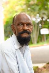 Mutton chops (Denis Brown) Tags: india beard intense kerala stare kochi fortcochin