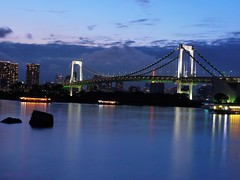 (Annie ( 00 )) Tags: bridge japan night tokyo bay photo rainbow scene annie ling rei twop naka gf1   annienaka