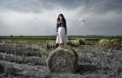 Paddy (selkit528) Tags: travel portrait art girl beautiful landscape paddy harvest malaysia moment
