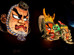 Face parts of Nebutas (decimal1025) Tags: festival japan museum traditional aomori lantern float nebuta