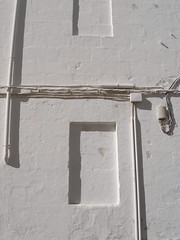 wall (the incredible how (intermitten.t)) Tags: light espaa white geometric wall minimal menorca ma baleares mahon minorca balearicislands illesbalears 20373