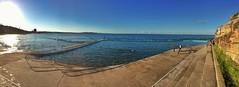 Collaroy beach and ocean pool (NinianLif) Tags: winter beach northernbeaches collaroy oceanpool