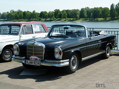 Mercedes-Benz 250 SE (W 111) (TIMRAAB227) Tags: auto car mercedes bonn convertible coche mercedesbenz cabrio cabriolet daimlerbenz w111 250se daimlerbenzag bonnerbogen w111iiia