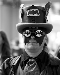 Steampunk batman (San Diego Shooter) Tags: portrait san comic sandiego cosplay streetphotography diego comiccon con sdcc 2015 sandiegocomiccon comiccon2015 sdcc2015 sandiegocomiccon2015