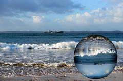 Queenscliff Globe (PhotosbyDi) Tags: beach photoshop seaside globe creative queenscliff nikond600 nikonf282470mmlens