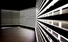 What are you doing Dave? (angeloangelo) Tags: wall lights pattern illuminated seoul southkorea sureal futuristic