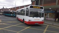 Hatton's (St Helens), Marshall C37 / Dennis Dart 9.8M,  P655 HEG (NorthernEnglandPublicTransportHub) Tags: