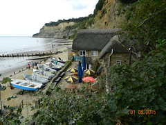 Shanklin Isle of Wight (Rory Llowarch) Tags: family sea summer vacation england sky people cliff sun holiday seascape color colour english beach beautiful beauty sunshine landscape fun islands bay landscapes seaside sand holidays colorful walks village play seascapes families scenic sunny villages cliffs sunbath adventure prom vectis isleofwight esplanade promenade beaches british summertime blueskies colourful seafront relaxation bays vacations beachhuts sunbathing daytrips deckchairs shanklin iow familyholidays scenicviews familyvacations sandownbay seaandsand sunseaandsand